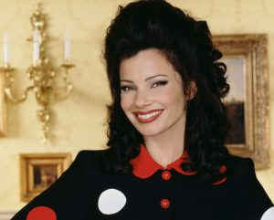 Fran Drescher in her renowned role in The Nanny