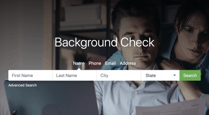 PeopleFinders Background Check